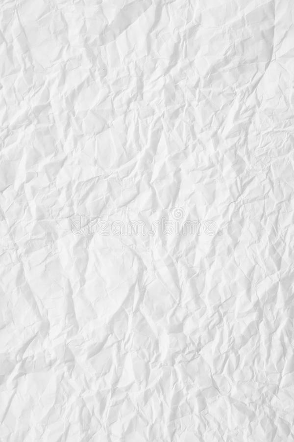 Download White crumpled paper stock image. Image of aging, material - 14759377