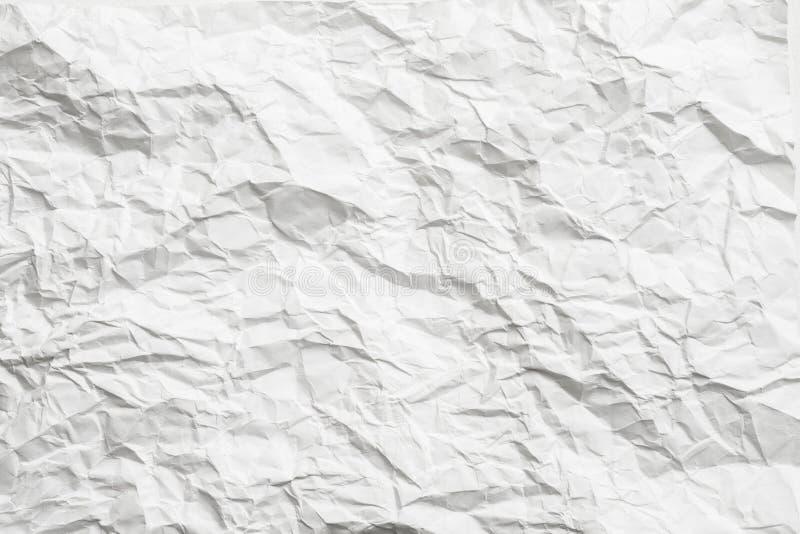 White crumpled paper gray shades minimalist design royalty free stock photo