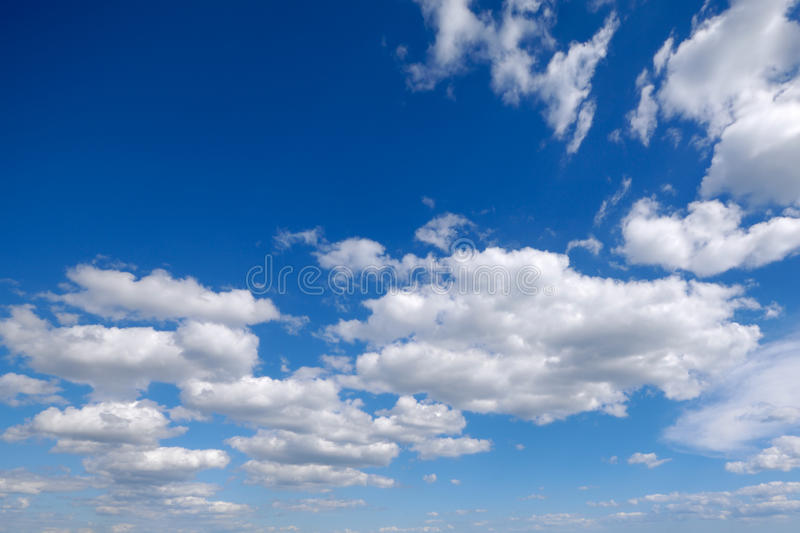 Download White cumulus clouds stock photo. Image of clouds, atmosphere - 13820384