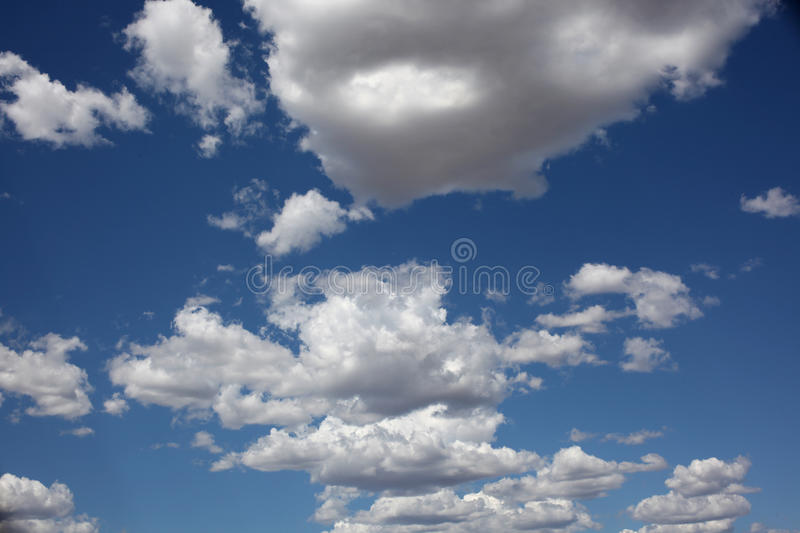 Download White Cumulus Clouds Royalty Free Stock Image - Image: 15890906