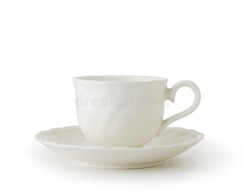 Download White Cup And Saucer Stock Photo - Image: 21924880