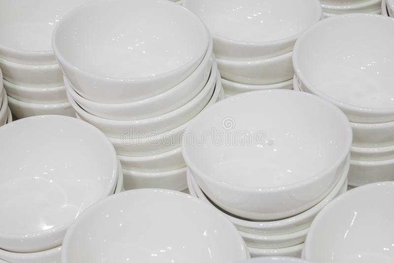 White cup for seasoning royalty free stock image