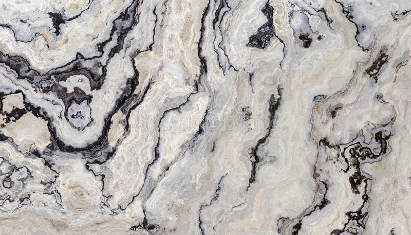 White curly marble royalty free stock photo