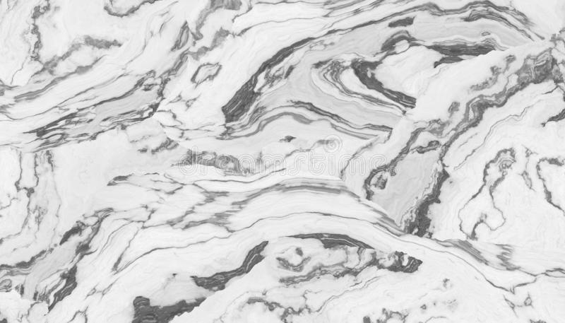 White curly marble stock illustration