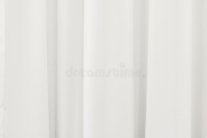White curtain background. Abstract of drape backdrop. Texture royalty free stock images