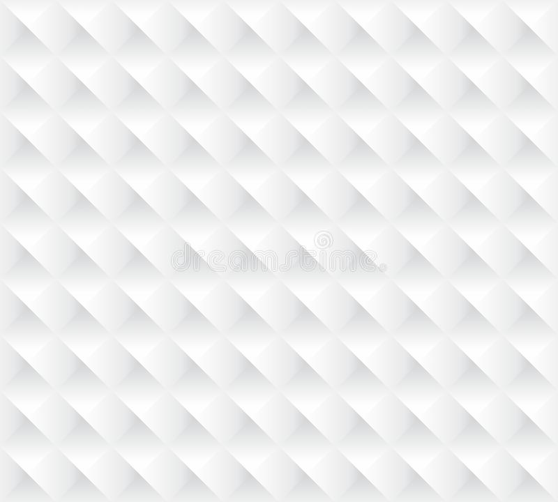 White 3d background seamless texture. 3d white folding texture seamless backgroun wallpaper ceiling artd which creates stalked one above other 3d depth vector illustration