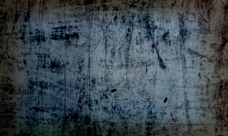 White   and  dark Old Grunge Abstract Texture Background Wallpaper. White crush dark texture background and wallpaper or book cover blur shade old the this stock illustration