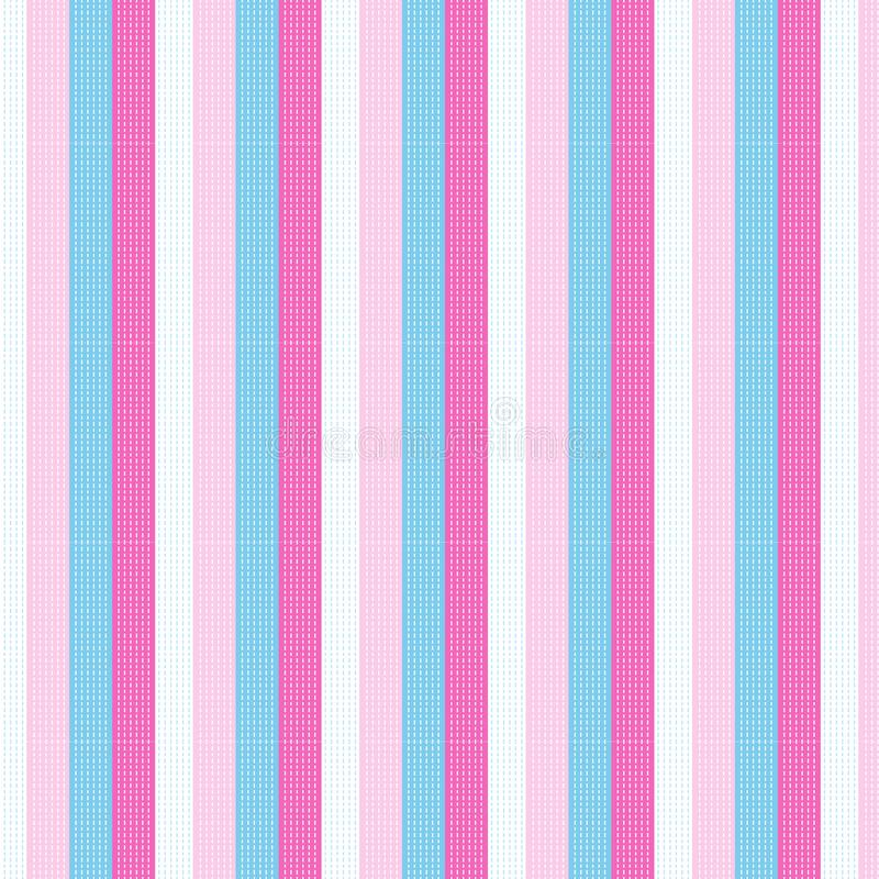 white dashed line on sweet pastel colorful vertical striped pattern background vector illustration