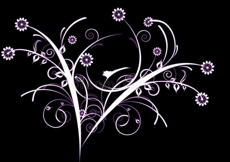 White decorative flowers