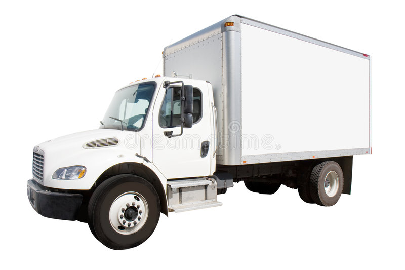 Download White Delivery Truck stock image. Image of isolated, products - 7281049