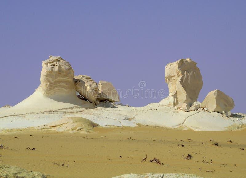 white desert obrazy stock