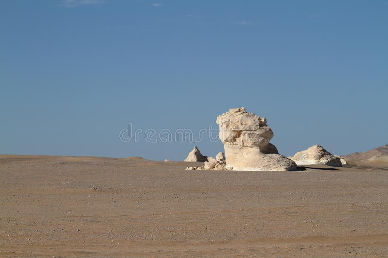 White Desert at Farafra in the Sahara of Egypt. The White Desert at Farafra in the Sahara of Egypt stock photos