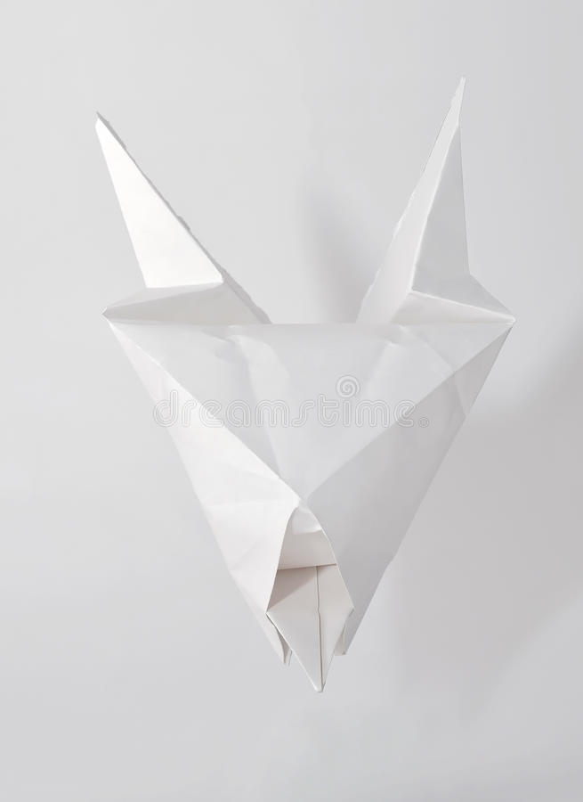Download White Devil Origami Stock Photo Image Of Concept Animal