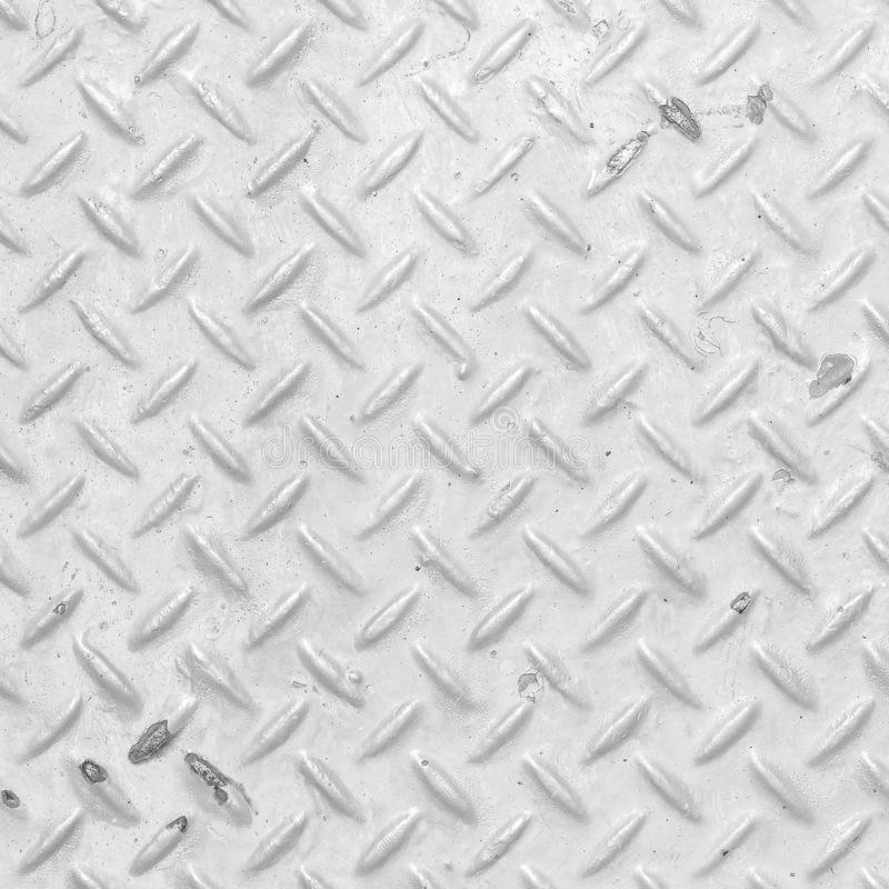 White diamond plate stock photo