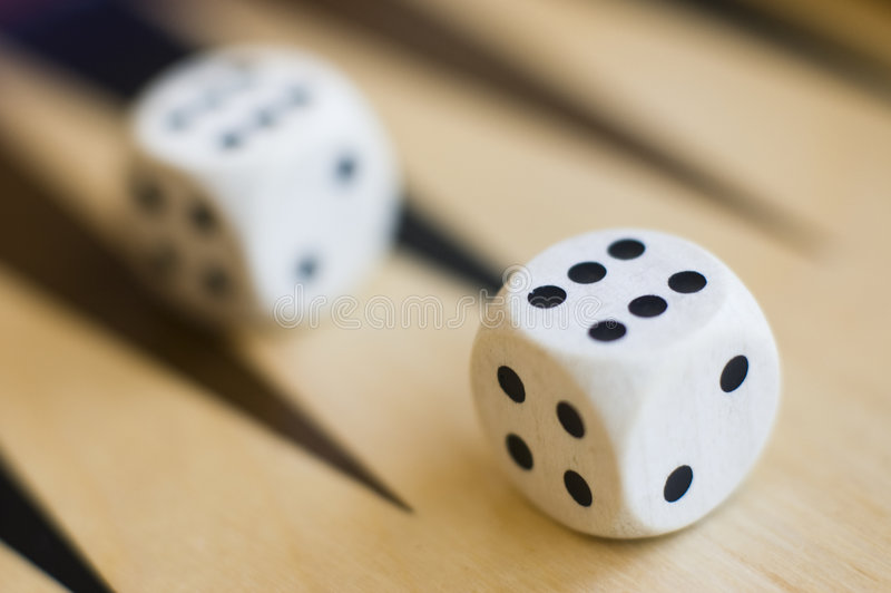Download White dices stock image. Image of playing, good, colour - 2790417