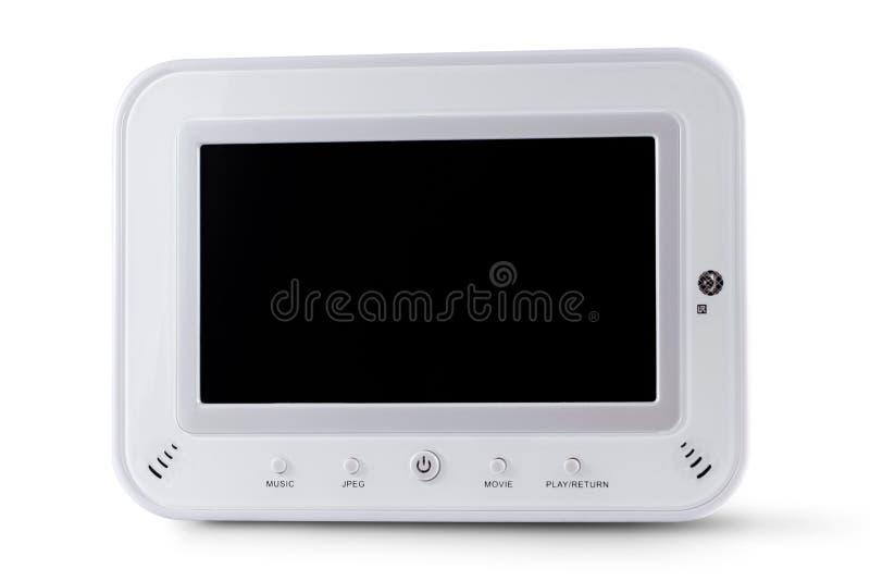 White digital frame stock image. Image of path, crop, border - 4465785