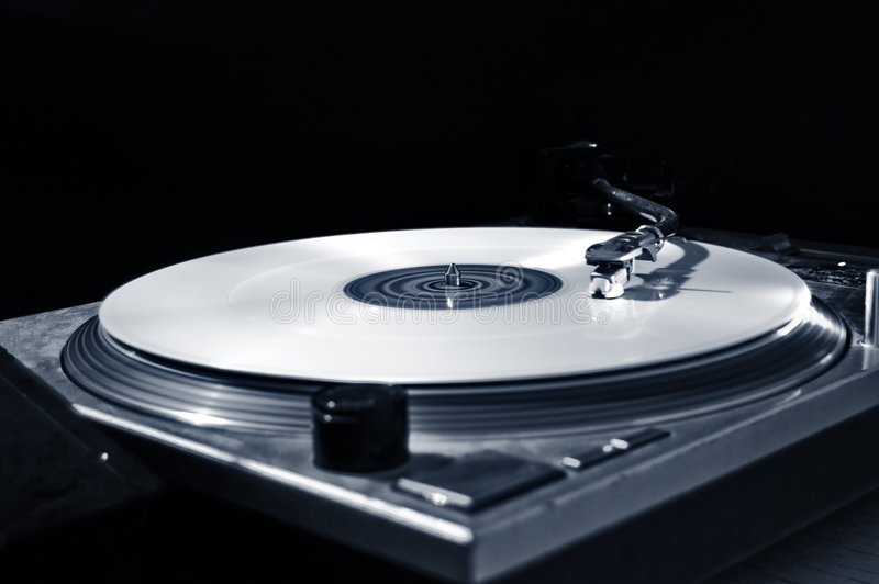 White disc stock photography