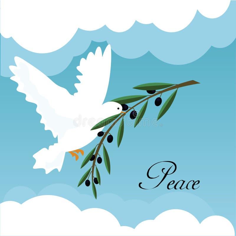Download White Dove stock vector. Illustration of nature, bird - 20529230