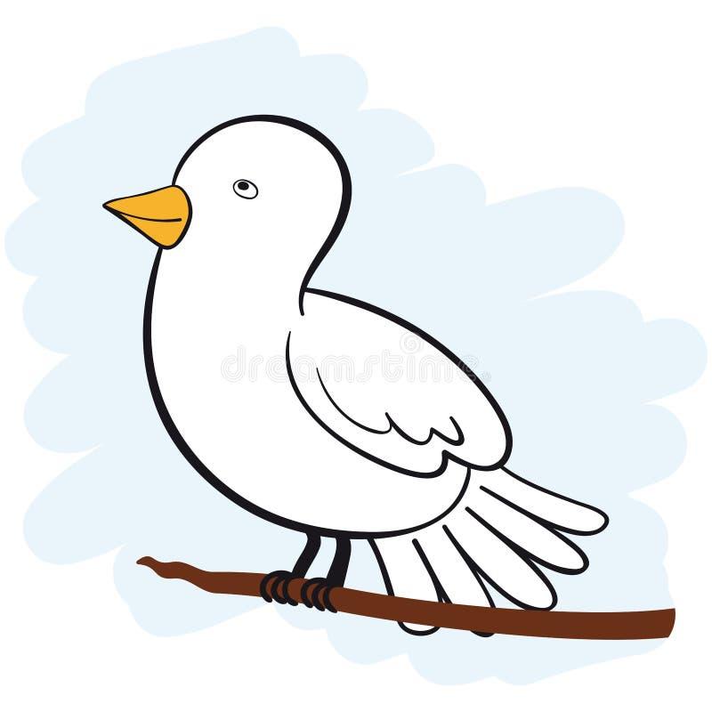 Download White Dove stock vector. Image of religious, freedom - 20711599