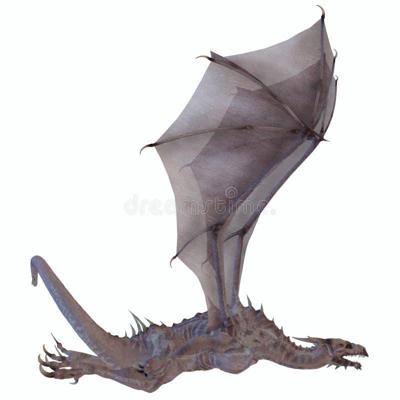 Download White Dragon stock illustration. Illustration of dangerous - 33447710