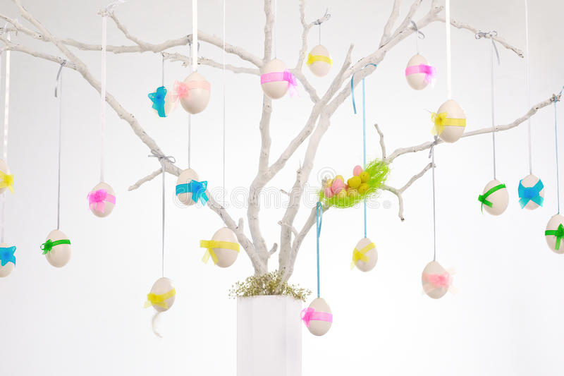 Download White easter tree stock image. Image of tradition, background - 29865617