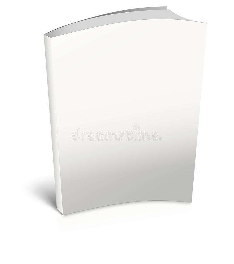 Download White empty book template stock photo. Image of books - 22524074