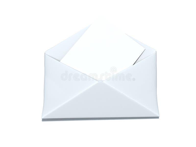 Download White envelope stock illustration. Illustration of send - 8560375