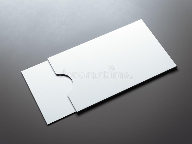 White envelope with blank business card 3d rendering stock download white envelope with blank business card 3d rendering stock illustration illustration of empty colourmoves