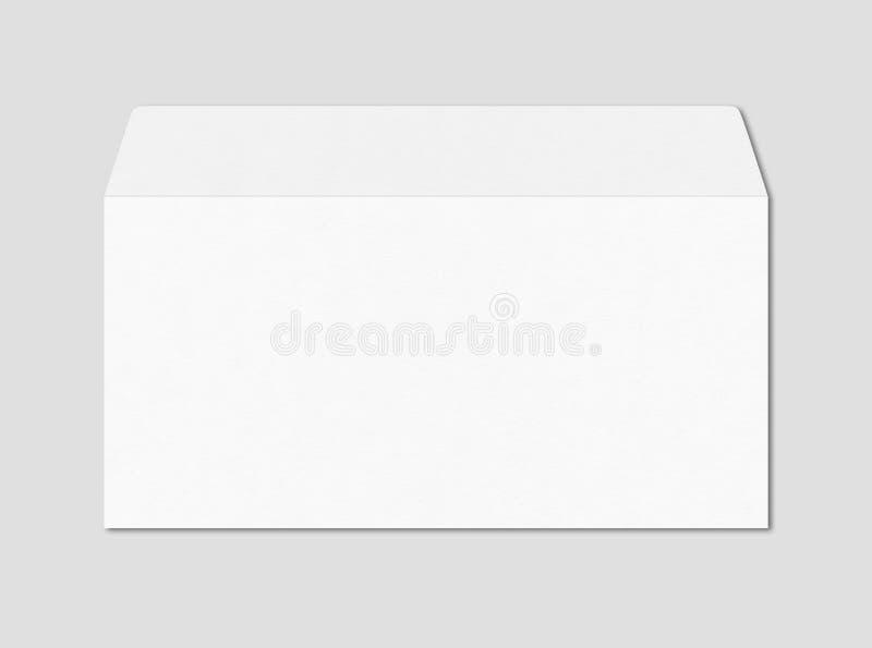 White enveloppe mockup template stock photo