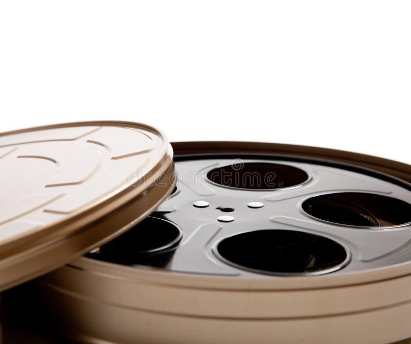 white för avstånd för rulle för kanisterkopieringsfilm royaltyfri foto