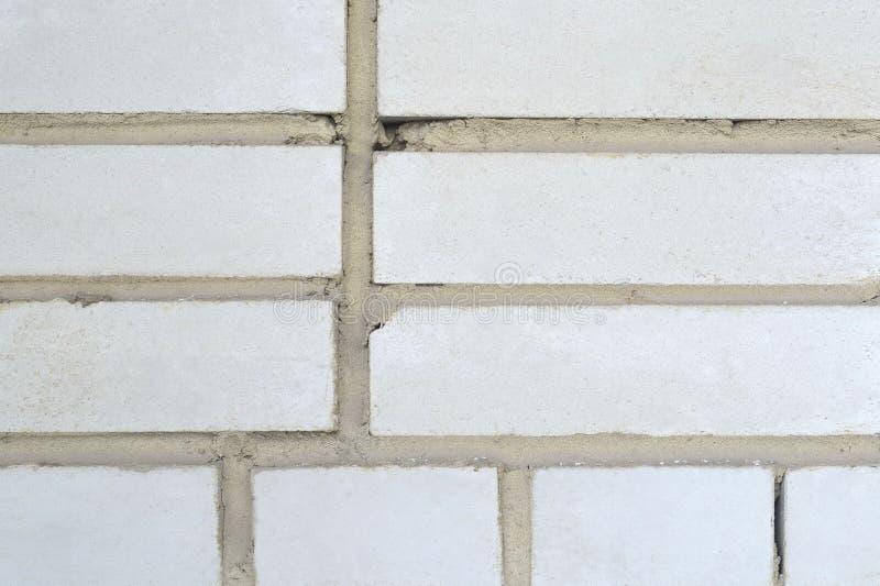 white för bakgrundstegelstenvägg royaltyfria foton