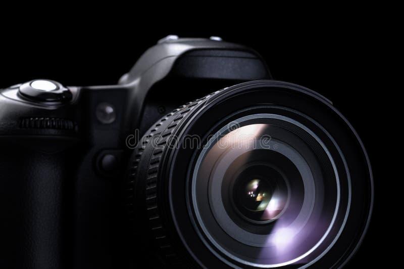 white för bana för bakgrundskameraclipping dslr isolerad arkivbilder