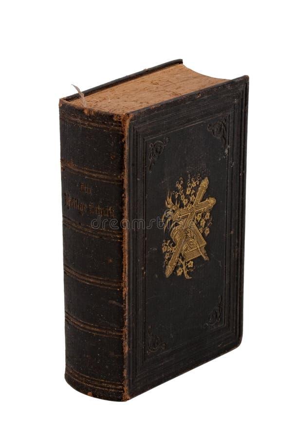 white för bibelboktappning arkivbilder