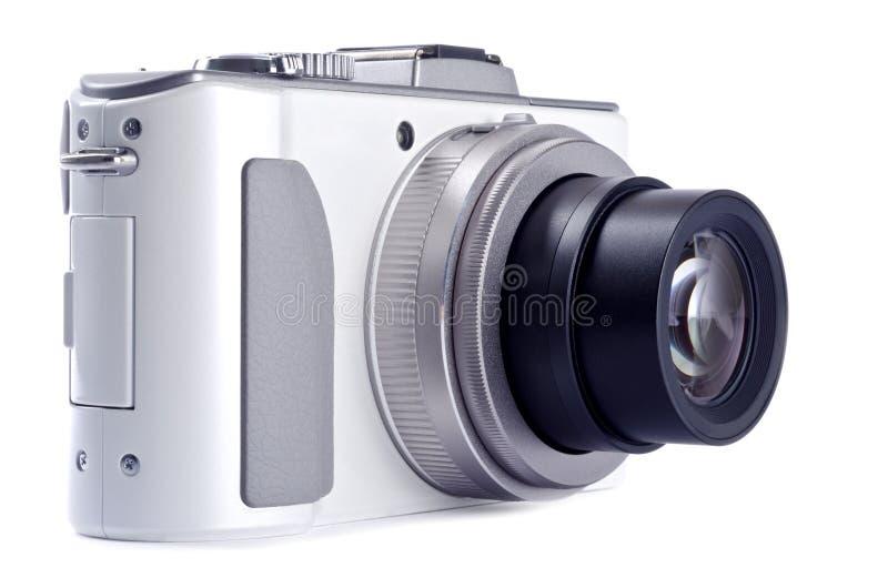 white för for för isolerad punkt för kamera digital royaltyfria foton