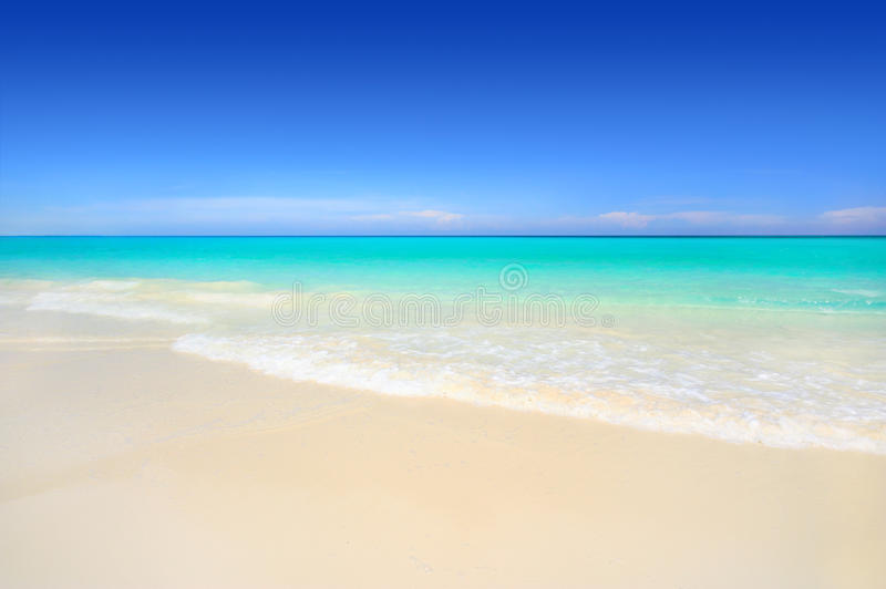 white för idyllisk sand för strand tropisk royaltyfri foto