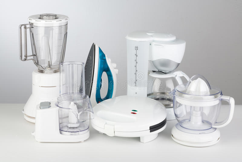 white för kök för anordningbakgrundsillustration royaltyfri bild