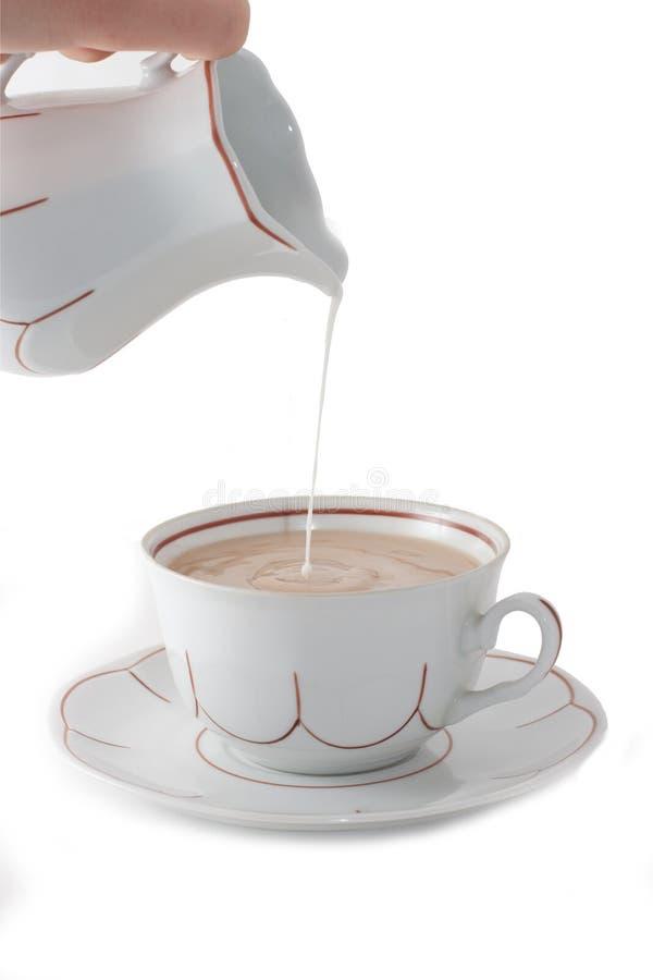 white för kaffekopp royaltyfria bilder