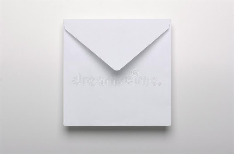 white för kuvertpapper arkivbild
