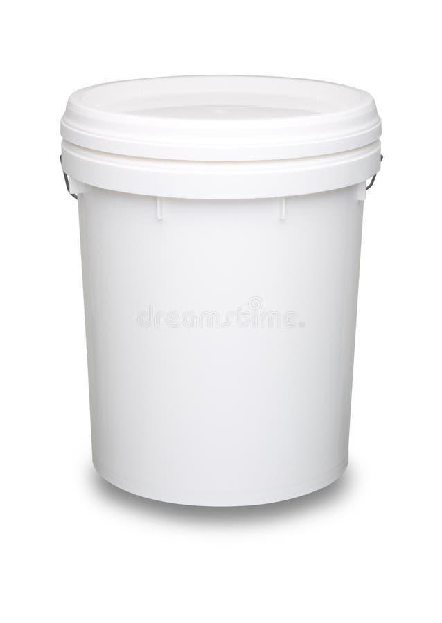 white för modell för flaska 3d plastic arkivfoto