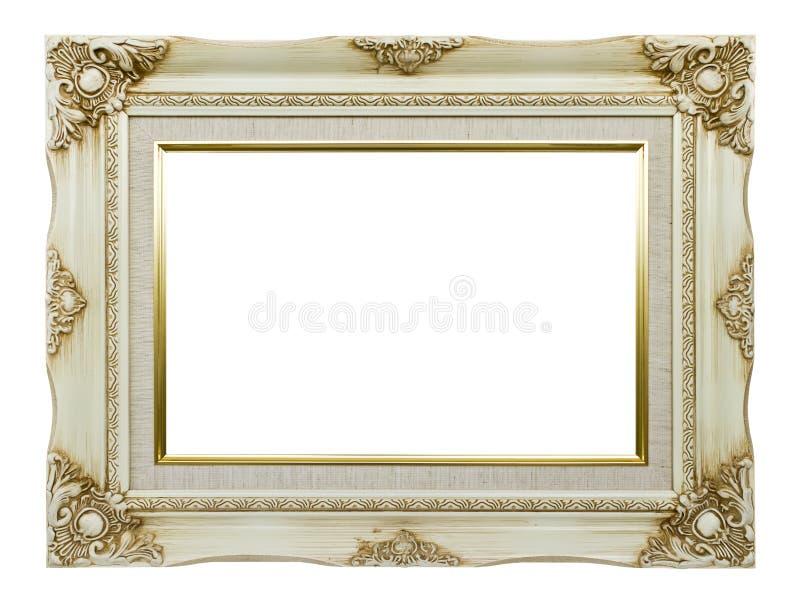 white för rambildtappning royaltyfri fotografi