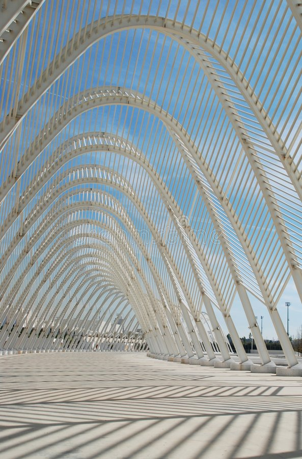 white för stål för konstruktionsdesignelement olimpic royaltyfri bild