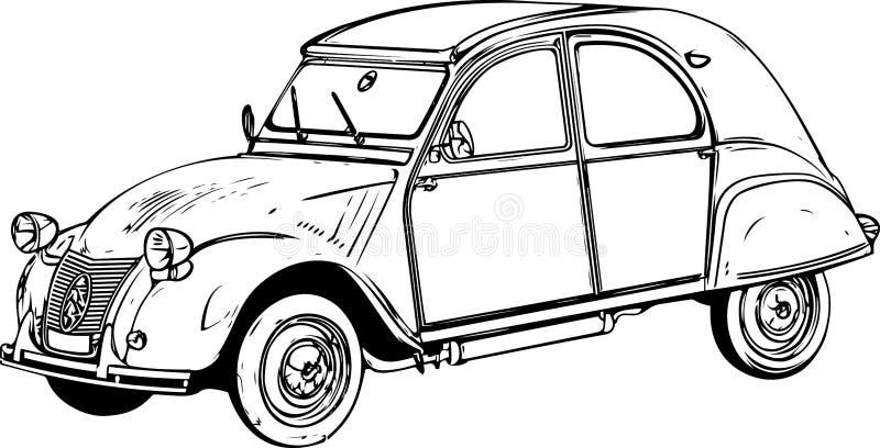 white för svart bil för bakgrund retro fotografering för bildbyråer