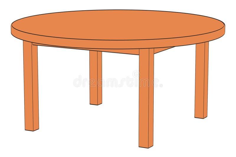 white för tabell för bakgrundsbild stock illustrationer