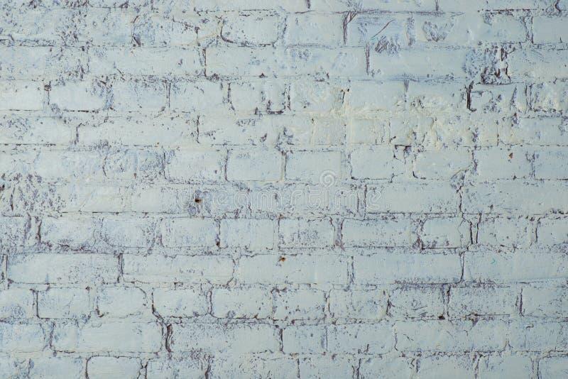 white för tegelstentexturvägg Elegant med hög upplösning av gammal vit tegelstentextur för bakgrundstapet royaltyfri foto