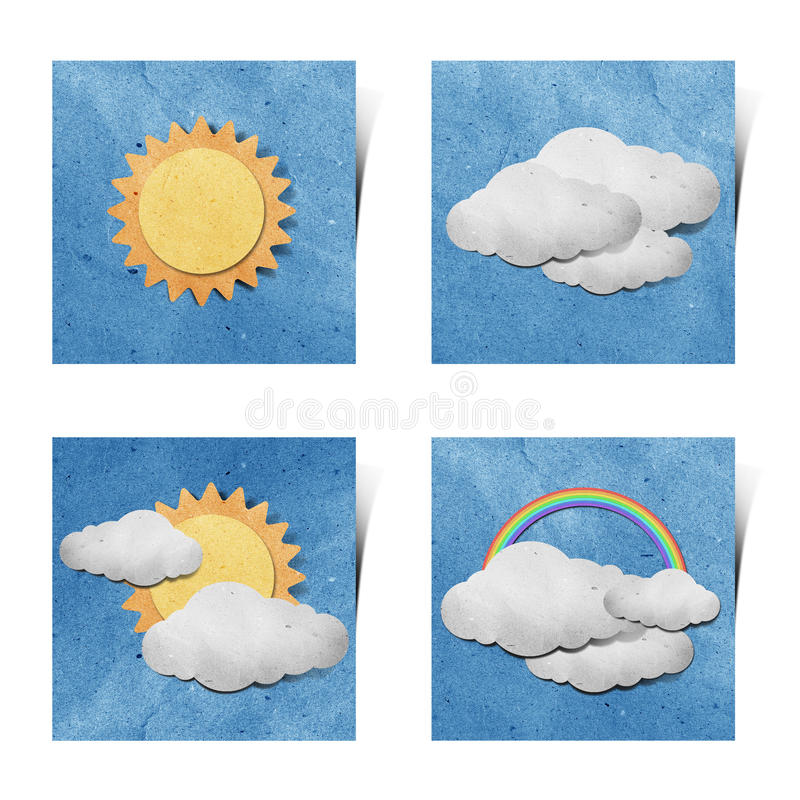 white för väder för stick för hantverkgrunge papper återanvänd vektor illustrationer