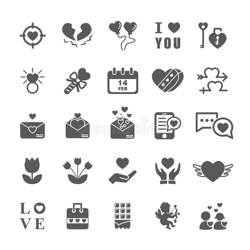 white för vektor för valentin för jordgubbe för form för symbol för hjärta för bakgrundschokladkaka illustration isolerad set vektor illustrationer