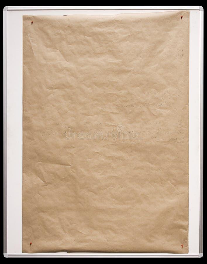 white för w för paper bana för bräde brun royaltyfri fotografi