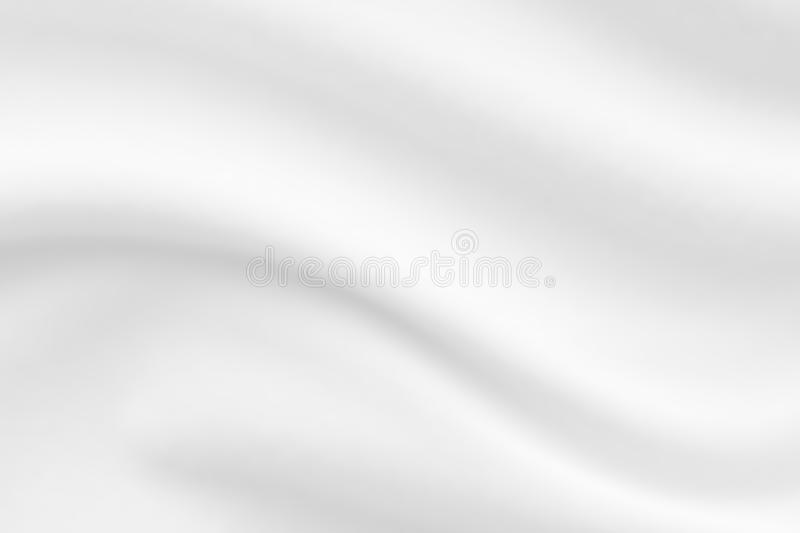 White fabric cloth texture blur background. Abstract white fabric cloth texture blur background stock photo