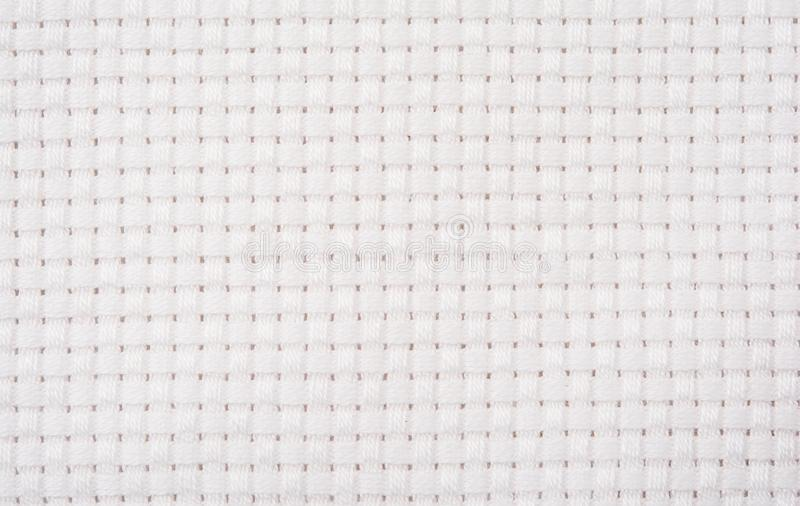 White fabric pattern and White striped pattern. Background stock photography