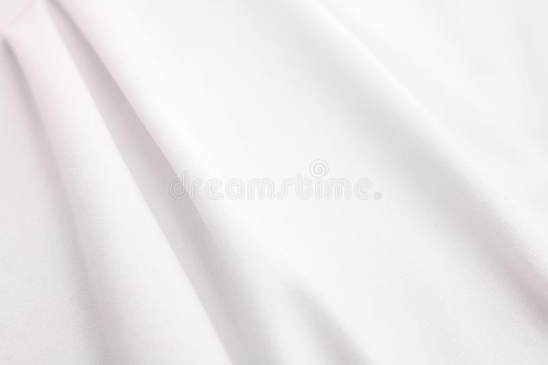 White fabric texture background. Abstract cloth material. Texture royalty free stock image